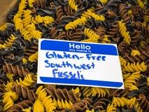Gluten-vrije deegwaren Stock Afbeelding