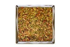 Gluten vrije granola Stock Afbeelding