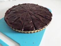 Gluten vrije Miliionaires shortcake Royalty-vrije Stock Fotografie