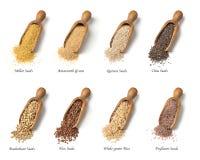 Gluten vrije zaden stock afbeeldingen