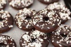 Glutenfreie Donuts des strengen Vegetariers Lizenzfreie Stockfotografie