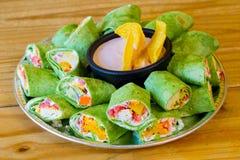 Glutenfreie vegetarische Veggie-Verpackungen stockfotografie