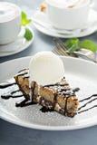 Glutenu bezpłatny tort z lody zdjęcie royalty free