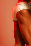 Glutes. Muscular male legs and rear end Stock Photo