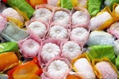 Glutineuze rijstcake Stock Afbeeldingen