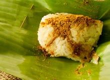 Glutinous рис, высушенная рыба Стоковые Фото