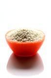 Glutinous Rice. Ingredients-Glutinous Rice Oryza sativa var. glutinosa or Oryza glutinosa; also called sticky rice, sweet rice, waxy rice, botan rice, mochi rice Stock Photos