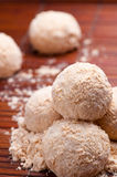 Glutinous rice ball Royalty Free Stock Images