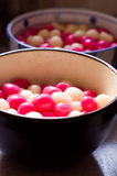 Glutinous Rice Balls Stock Photography