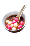 Glutinous Rice Balls Royalty Free Stock Photos