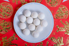 Glutinous rice balls. Traditional chinese glutinous rice balls Stock Images