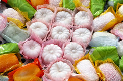 Glutinous rice cake. A kind of Chinese snack stock images