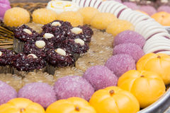 Glutinous rice sweets Stock Photos