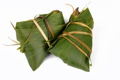 Glutinous rice, zongzi, traditional Chinese food stock photos