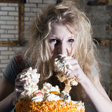 Gluttony Royalty Free Stock Images