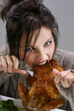 Gluttony Royalty Free Stock Photography