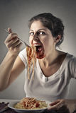 Gluttony Stock Photo