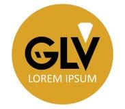 GLV Logo Design Royalty Free Stock Photos