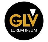 GLV Logo Design Stock Photo