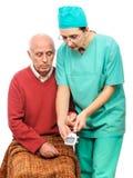 Управление glycemia анализа крови Стоковые Изображения RF