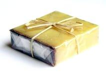 Glycerine soap. A bar of moisturizing soap Stock Photo