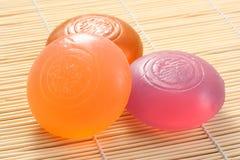 Glycerine soap Stock Photo