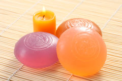 Glycerine soap Royalty Free Stock Photos