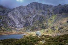 Glyder Fawr, Snowdonia Stockbilder