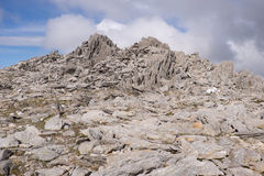 Glyder Fawr summit Stock Photography