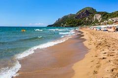 Glyfada strand Fotografering för Bildbyråer