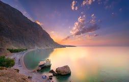 Glyka Nera beach, Crete Stock Photos