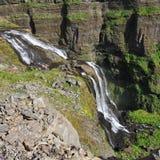 Glymur,冰岛 图库摄影