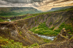 Glymur canyon Stock Photos