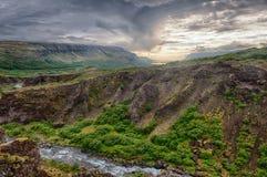 Glymur canyon Stock Image