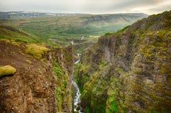 Glymur canyon Stock Photo