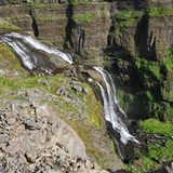 Glymur, Islândia Fotografia de Stock