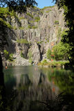 Glyn Vivian quarry. Royalty Free Stock Photos