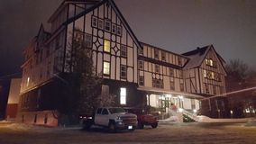 Glynmill Inn Corner Brook NL. Superb hotel, great staff, central to shopping royalty free stock image