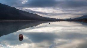 Glynneath jezior południowe walie Obrazy Royalty Free