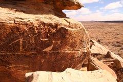 glyph βράχος Στοκ Εικόνες