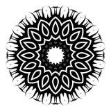 Glyph del azafrán Fotos de archivo libres de regalías