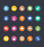 Glyphs Colored Vector Icons 9 Stock Photos