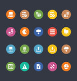 Glyphs Colored Vector Icons 26 Stock Photos