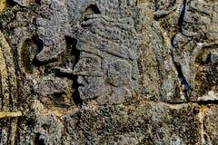 Glyphs mayas Fotos de archivo libres de regalías