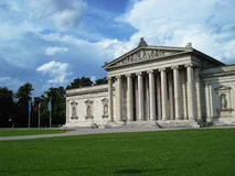 Glyptothek Art Museum. In Munich, Germany. Neoclassical temple style with Greek and Roman sculptures Royalty Free Stock Image