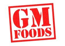 GM FOODS Royalty Free Stock Photos