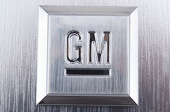 GM General Motors Emblem Royalty Free Stock Photo