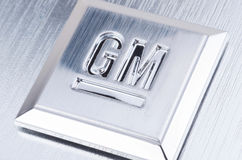 GM General Motors Emblem Stock Photo