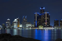 GM Renaissance Center Royalty Free Stock Images