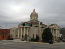 Gmach sądu w Summerville, Gruzja usa fotografia royalty free